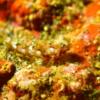 秋の浜で撮影したヒメテグリ(幼魚)・顕微鏡モード